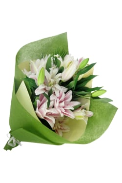 Double Delight Lily Bunch - Standard