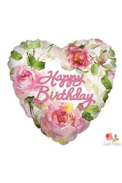 Happy Birthday - Roses - Standard