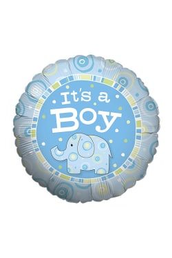 It's a Boy Zoobilee Balloon - Standard
