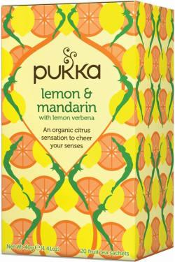 Pukka Lemon and Mandarin - Standard