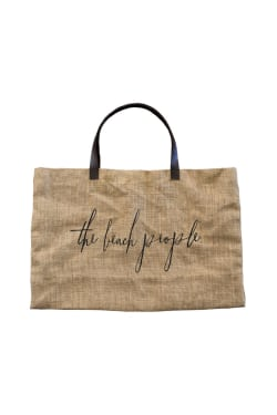 Beach people Jute Bag - Standard