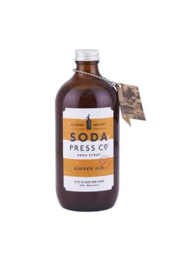 Soda Press Ginger Ale  - Standard