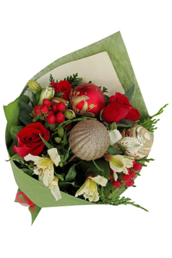 Merry And Bright Posy - Standard