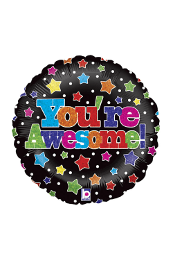 You're Awesome! Balloon - Standard
