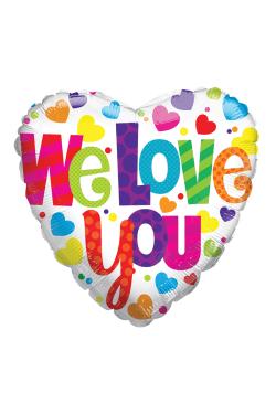 We Love You Balloon - Standard