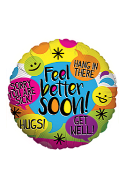 Feel Better Soon Balloon - Standard
