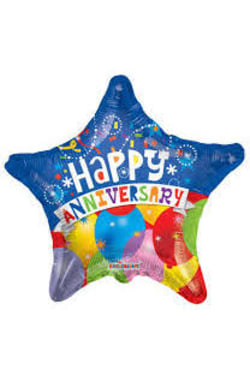 Happy Anniversary - Star - Standard