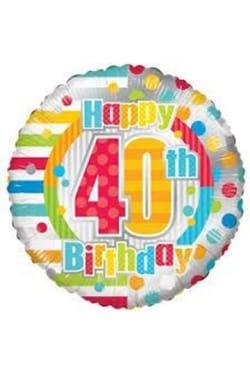 Happy 40th Birthday - Standard
