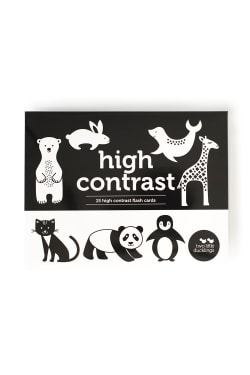 Flash Cards - High Contrast  - Standard
