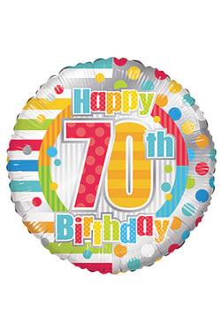 70th Birthday - Standard