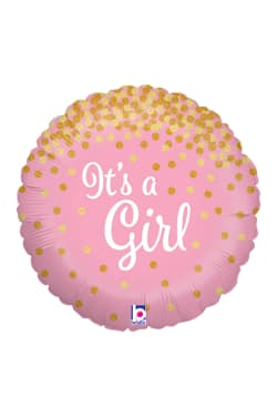 It's A Girl - Glitter - Standard