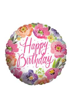 Happy Birthday - Pink - Standard