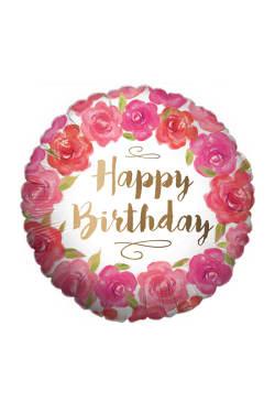 Happy Birthday - Gold - Standard