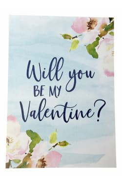 Will You Be My Valentine? - Standard