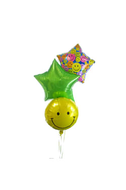 Smiley Balloon Bouquet - Standard