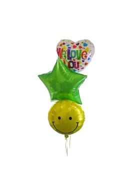 We Love You Balloon Bouquet - Standard