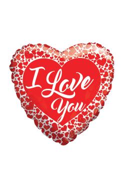 I Love You - Hearts - Standard