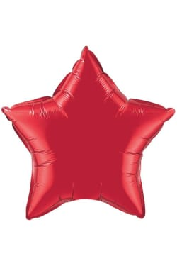 Red Star Balloon - Standard