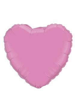 Soft Pink Heart Balloon - Standard