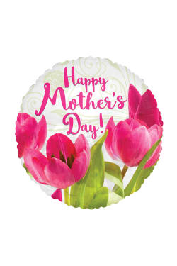 Happy Mothers Day - Tulips - Standard