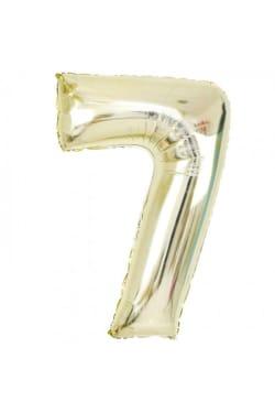 White Gold Foil '7' - Standard