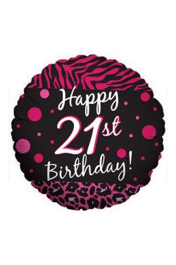 Happy 21st Birthday - Standard
