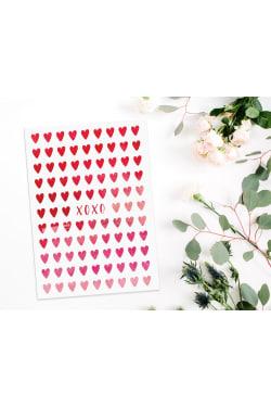 XOXO Hearts - Standard