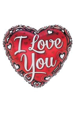 Heart shaped I Love You - Standard