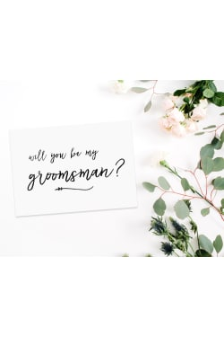 Will You Be My Groomsman - Standard