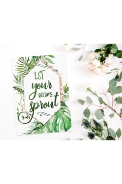 Let Your Dreams Sprout - Standard