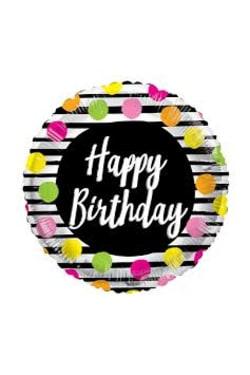 Happy Birthday - Dots - Standard