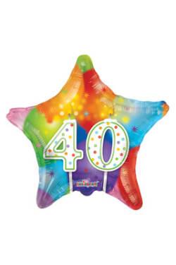 40 Balloon - Star - Standard