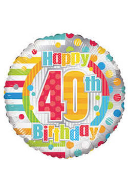 40 Th Birthday - Standard