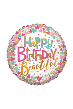 Happy Birthday - Beautiful - Standard