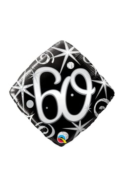 60  Diamond Balloon - Standard