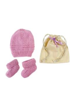 Merino Baby Gift - Lavender - Standard