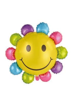 Multi Colour Sunflower Balloon - Standard
