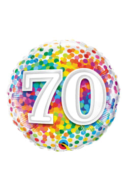 Aged 70 Dots - Standard