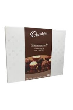 Milk & Dark Assorted Truffles  - Standard