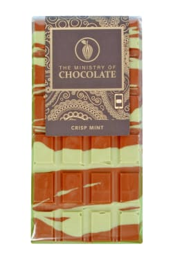 Crisp Mint Chocolate Bar 100g - Standard