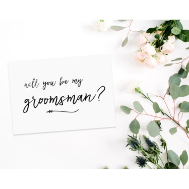 Will You Be My Groomsman? - Standard
