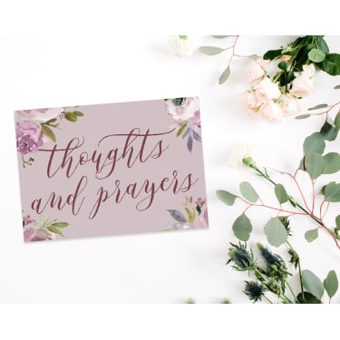 Thoughts & Prayers - Standard