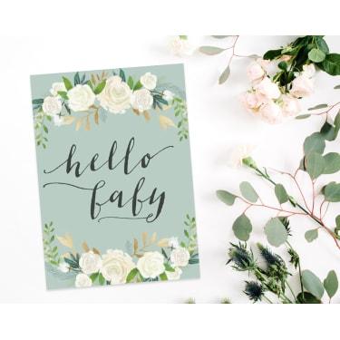 Hello Baby - Green - Standard