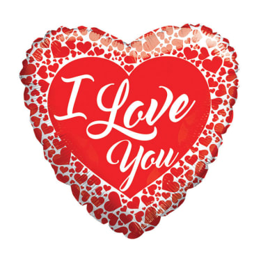 I Love You Hearts - Standard