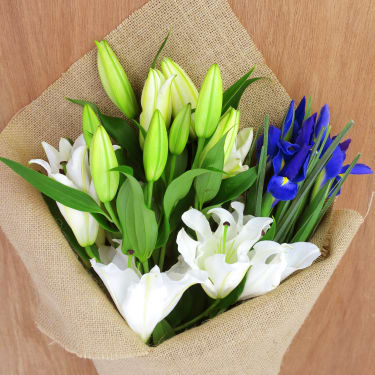 Lilies & Iris Subscription - Standard