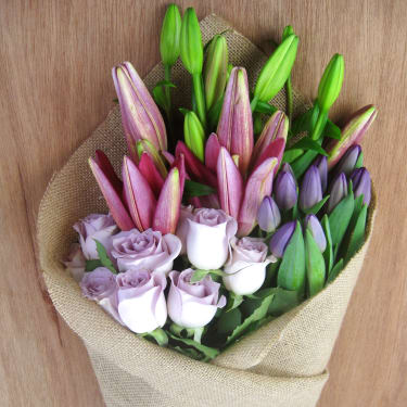 Lilies, Roses and Tulips - Standard