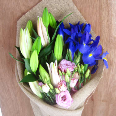 Lilies, Lisianthus & Iris - Standard