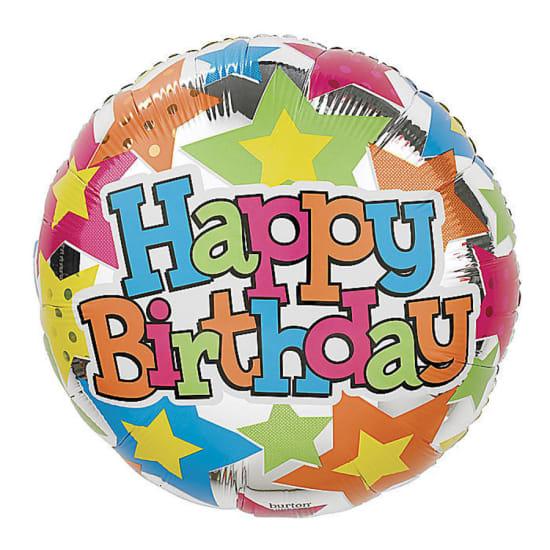 Happy Birthday - Crazy Stars - Standard