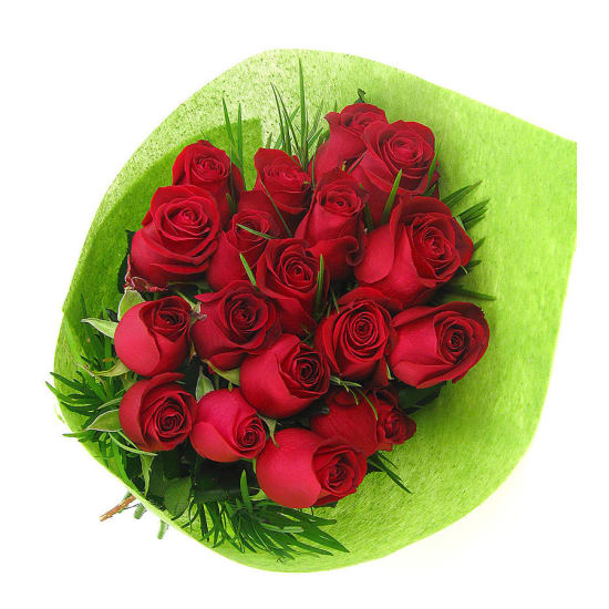18 Roses Bouquet - 18 Roses