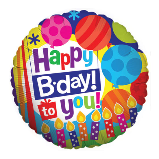 Happy B'day To You - Standard